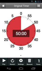 Time Timer app screenshot Android
