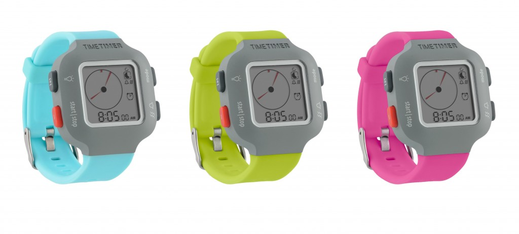 Time Timer watches in colour