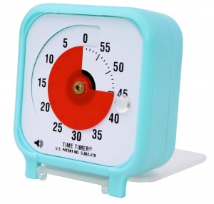 Time Timer Pocket Blue - side