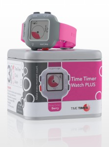 Time Timer watch Plus in colour berry