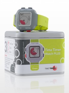 Time Timer watch Plus in colour lime