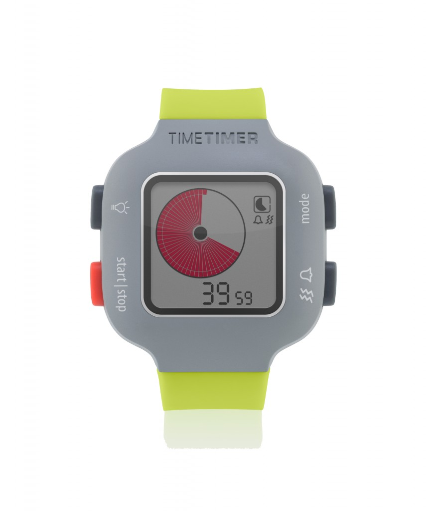 Time Timer watch Plus - youth - limegreen - Timer mode