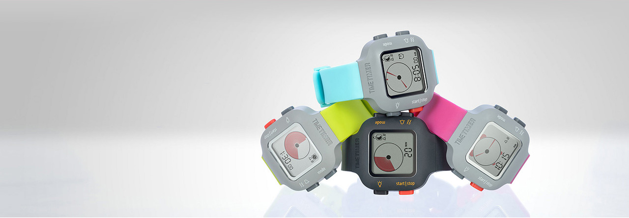 Time timer watches colours